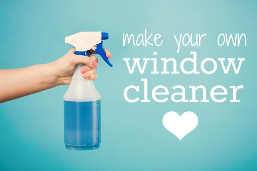 How to make window cleaner the happy shopper for Build your own window