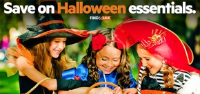 Halloween's Coming! Save Early on Essentials