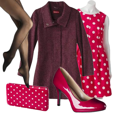 """Pretty in Polka Dot""  