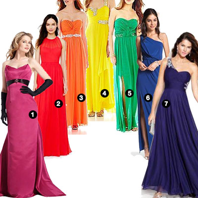 Rainbow Party - Ultimate Prom Dress Guide