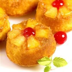 Pineapple Upside Down Cupcakes from allrecipies.com