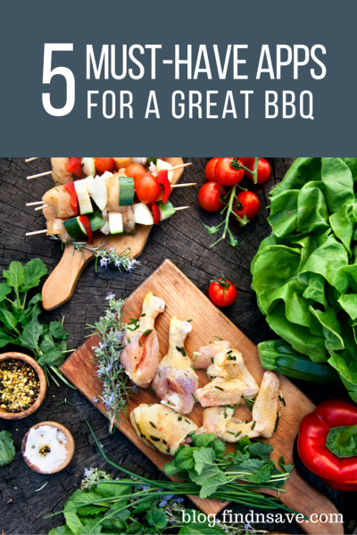 5 Must-Have Apps For A Great BBQ